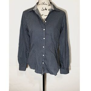 Brooks Brothers Floral Fitted Button Down Shirt